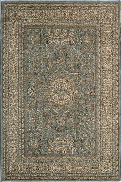 Belmont BE-03 Light Blue Rug by Momeni