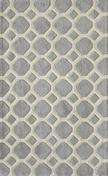 Bliss BS-11 Grey Rug by Momeni