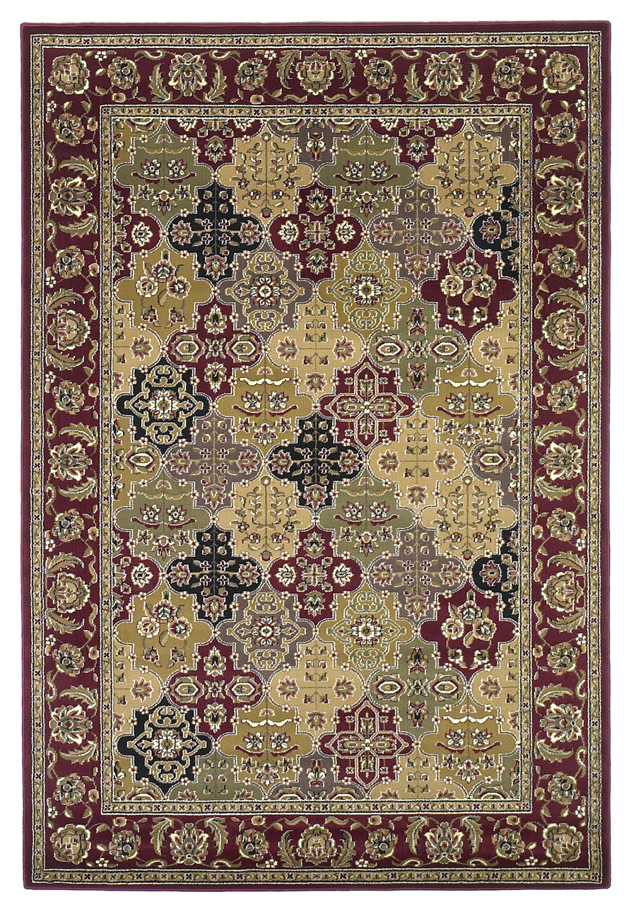 Cambridge 7325 Red Rug by Kas