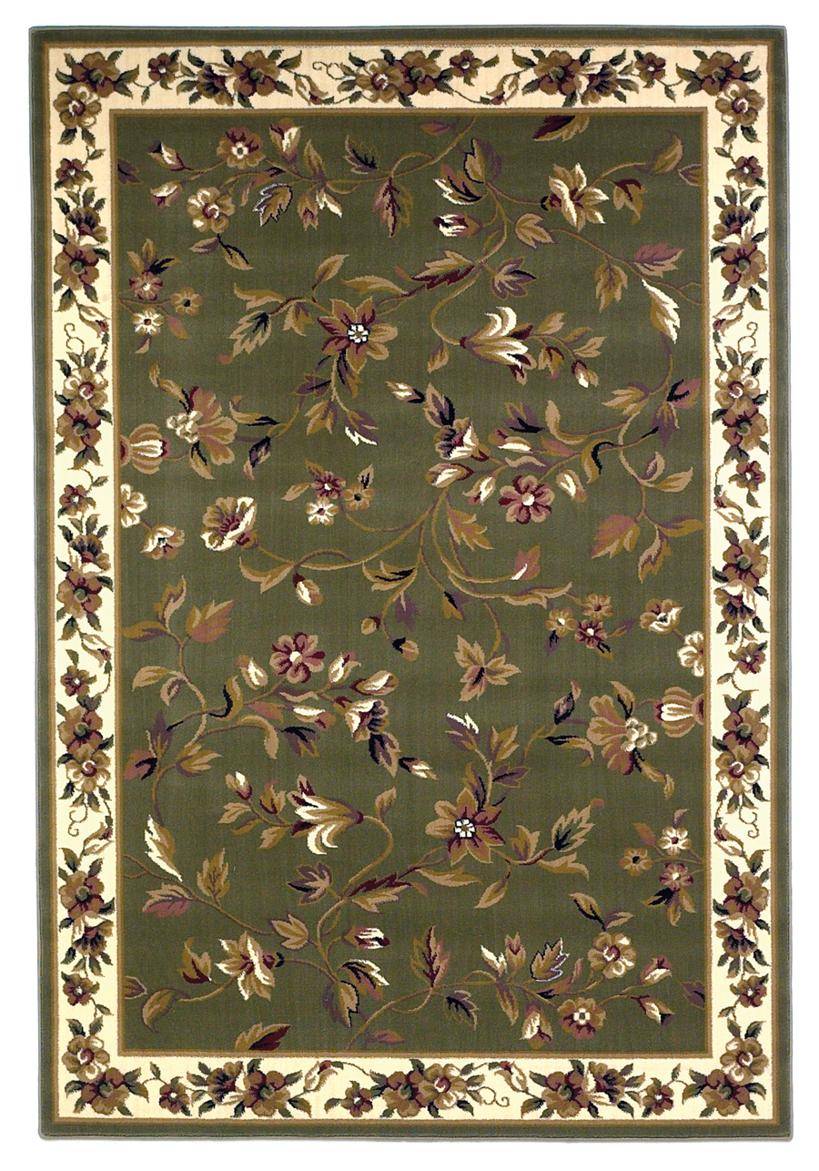 Cambridge 7332 Sage/Ivory Rug by Kas