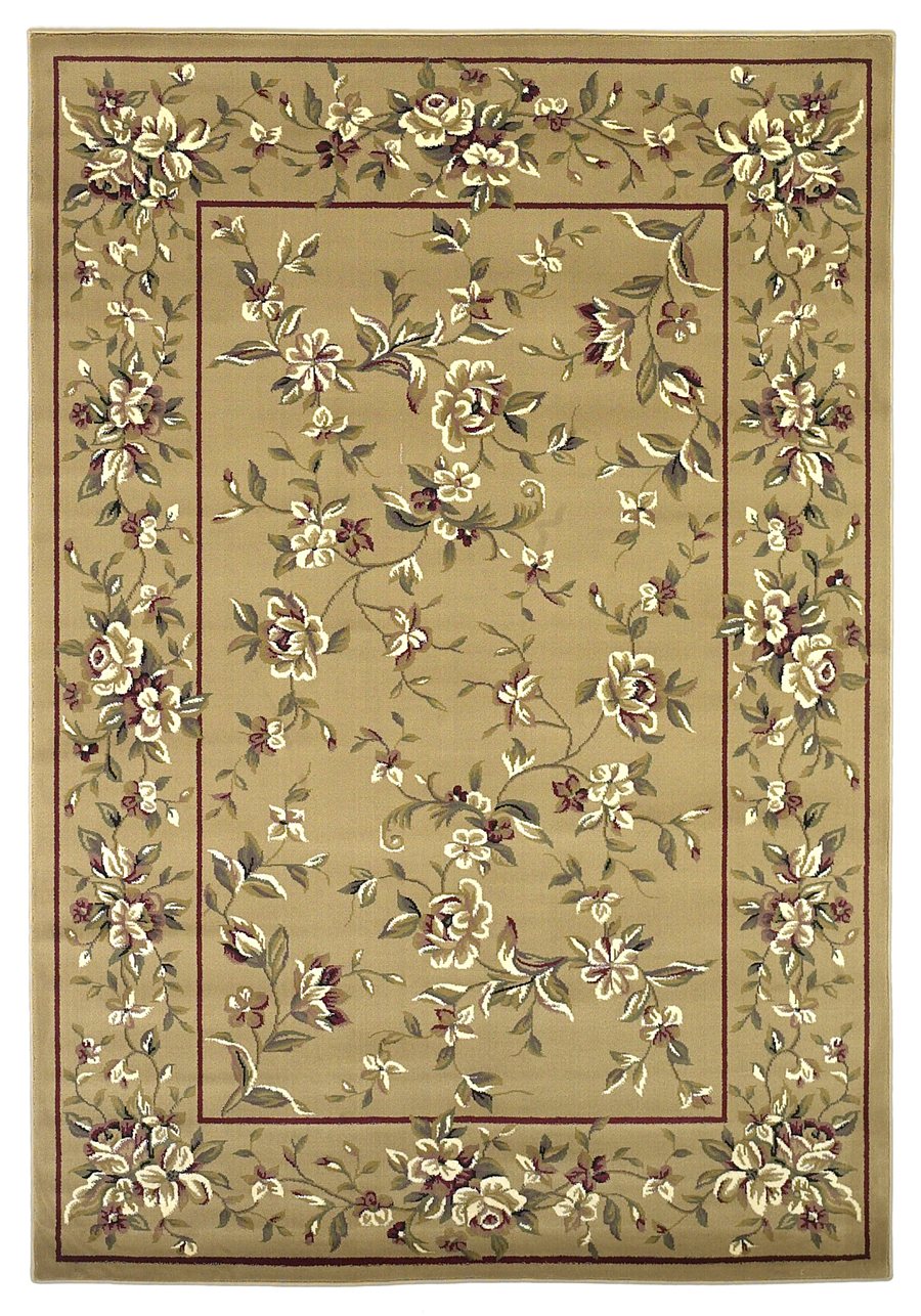 Cambridge 7338 Beige Rug by Kas