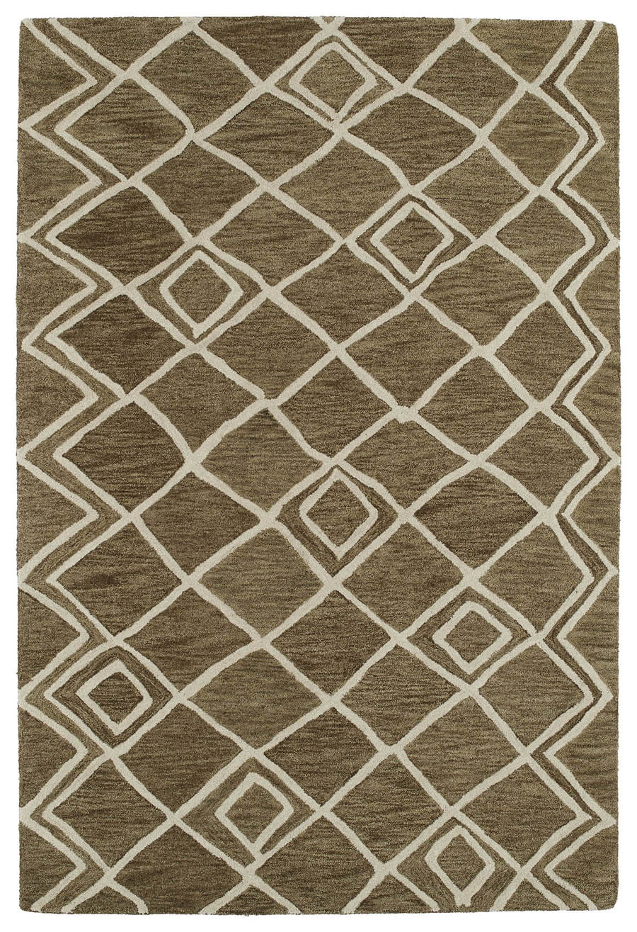 Kaleen Casablanca CAS04 49 Brown Rug