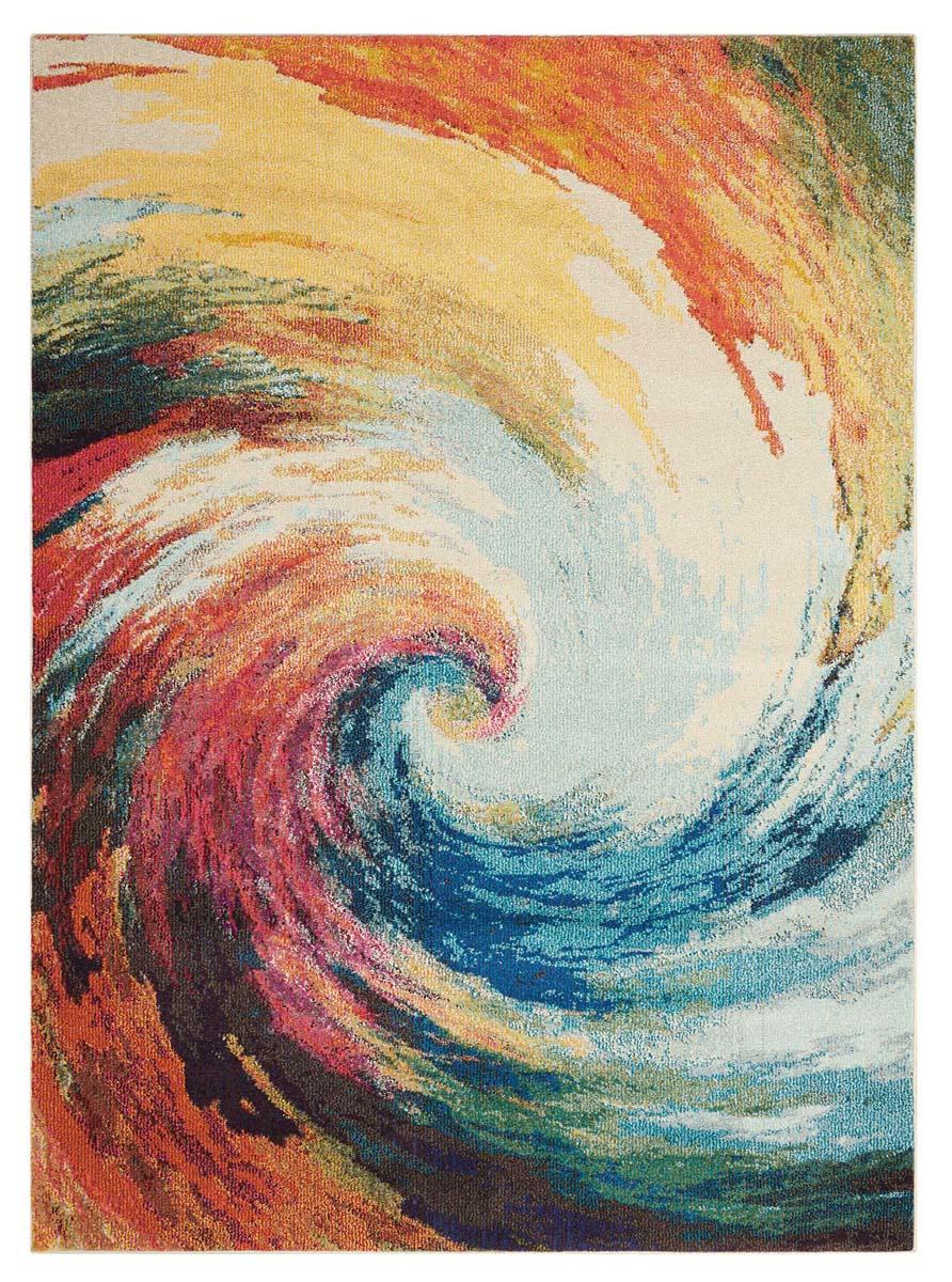 Nourison Celestial Ces07 Wave Rug