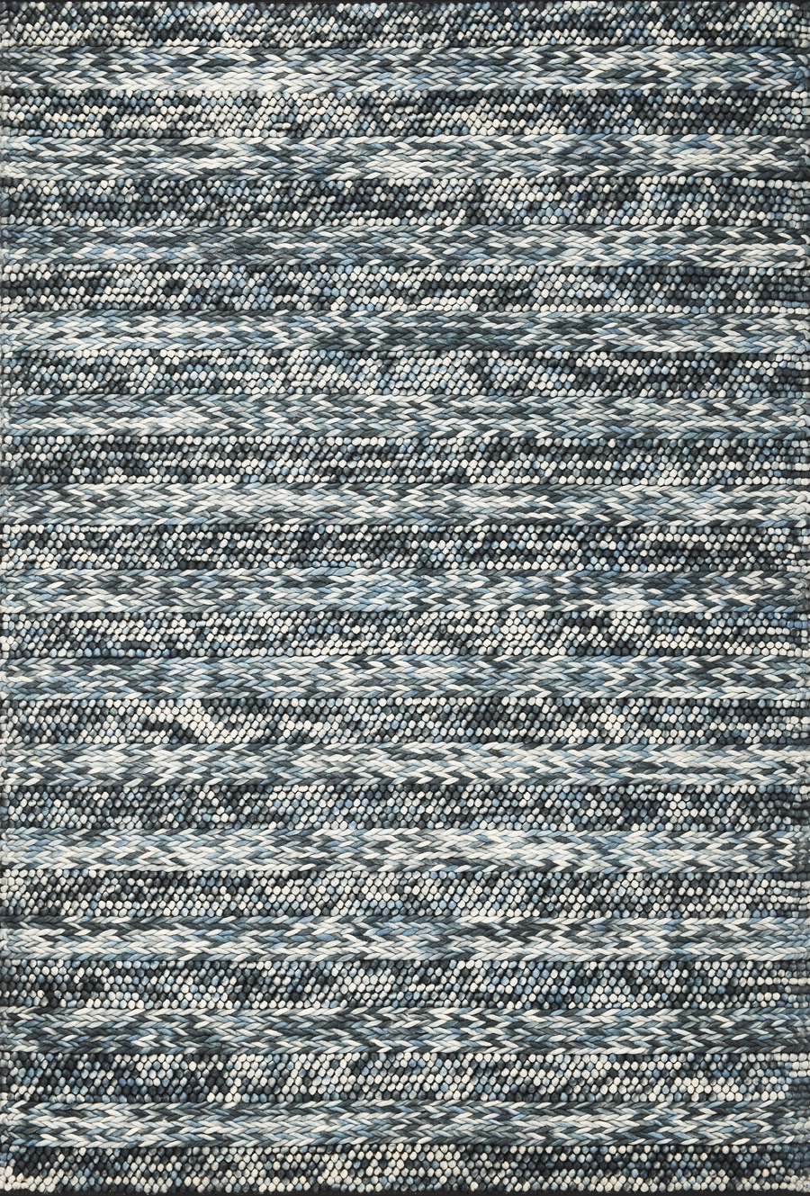 Cortico 6156 Blue Heather Rug by Kas