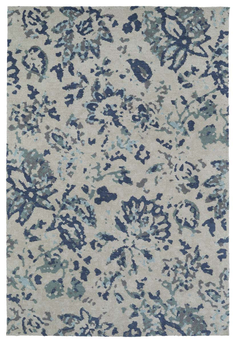 Kaleen Cozy Toes CTC05-17 Blue Rug