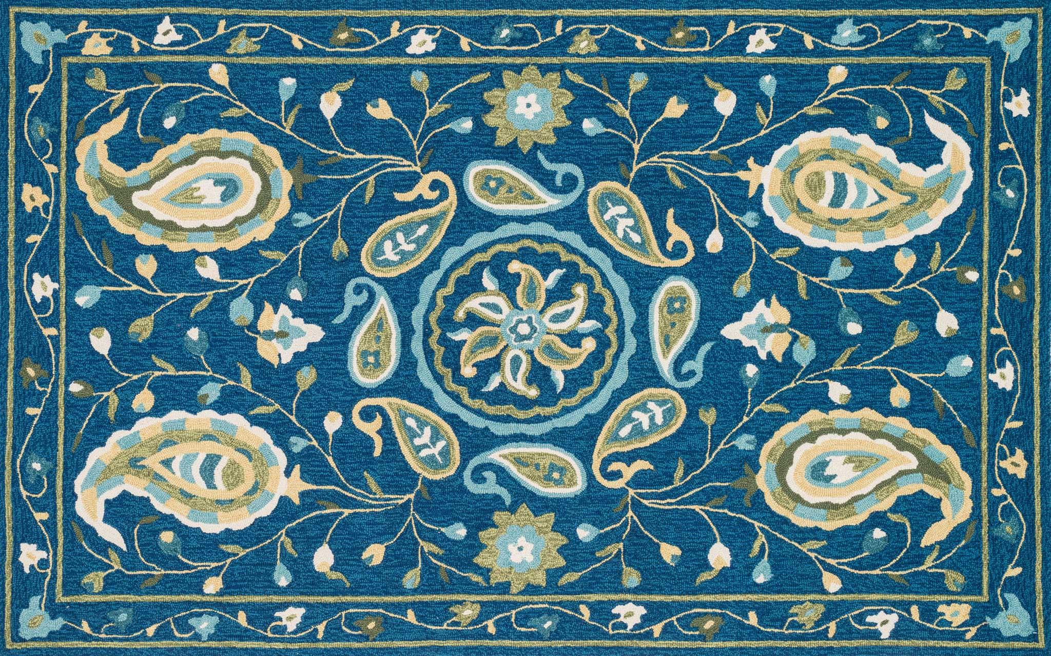 Loloi Francesca Fc 53 Blue Green Rug