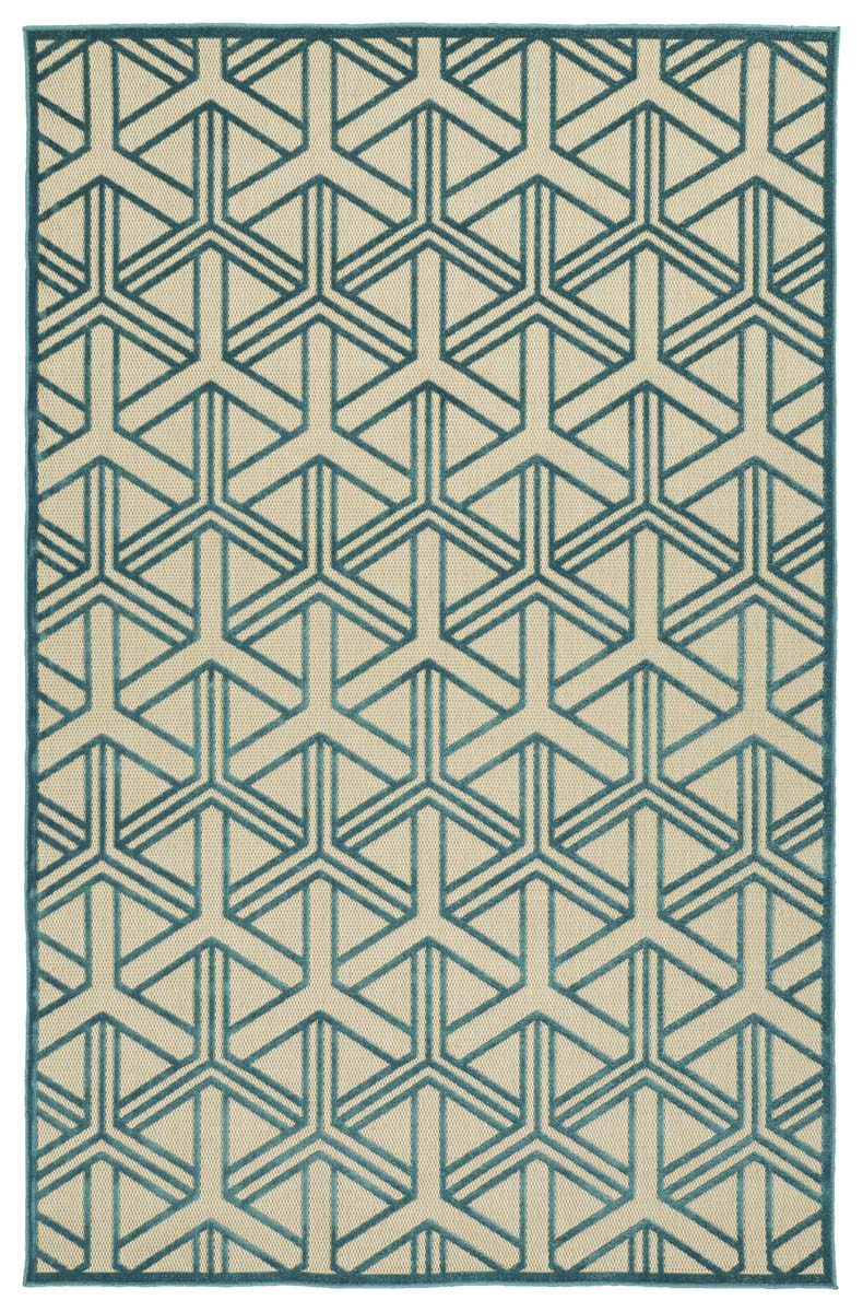 Kaleen A Breath of Fresh Air FSR106-17 Blue Rug
