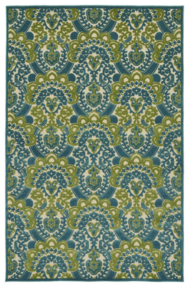 Kaleen A Breath of Fresh Air FSR107-17 Blue Rug