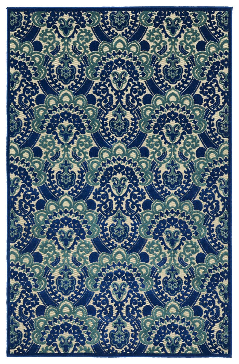 Kaleen A Breath of Fresh Air FSR107-22 Navy Rug