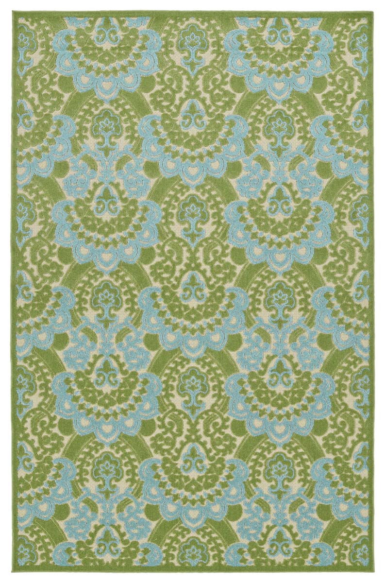 Kaleen A Breath of Fresh Air FSR107-50 Green Rug