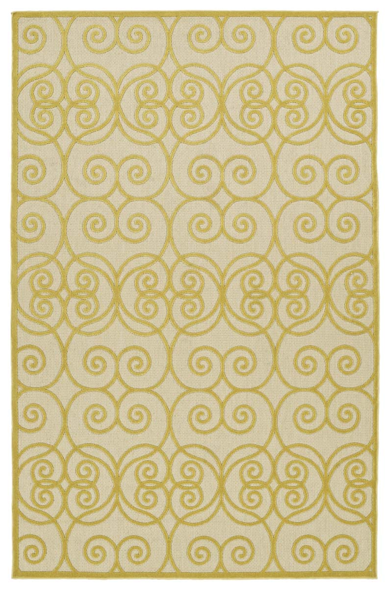 Kaleen A Breath of Fresh Air FSR108-05 Gold Rug