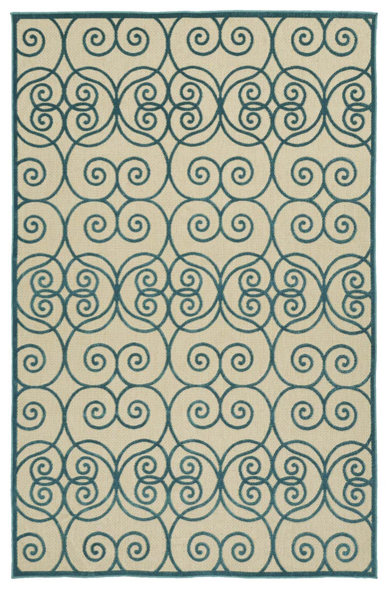 Kaleen A Breath of Fresh Air FSR108-17 Blue Rug