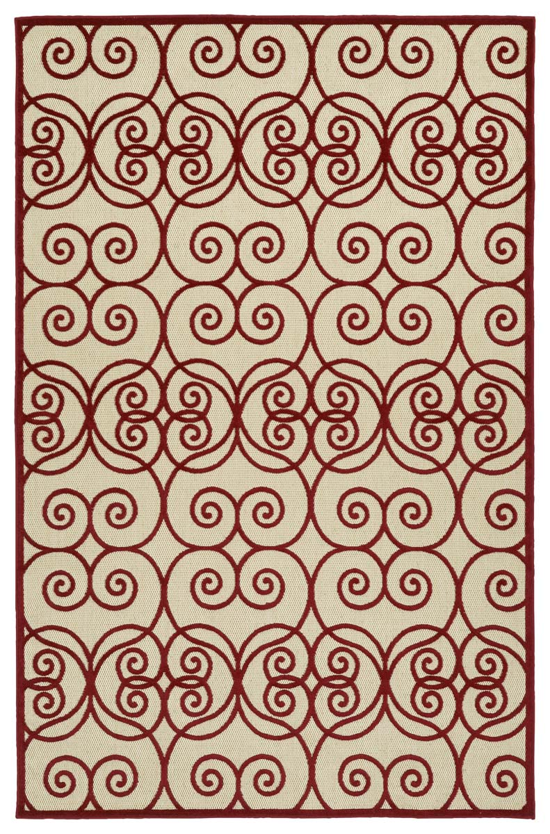 Kaleen A Breath of Fresh Air FSR108-25 Red Rug
