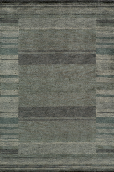 Gramercy GM-15 Blue Rug by Momeni