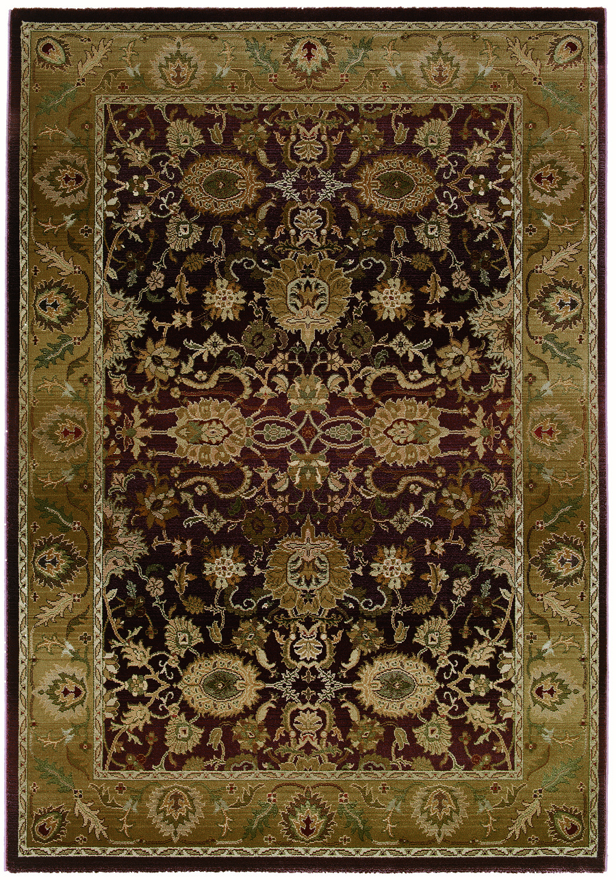 Oriental Weavers Sphinx Generations 1732M Dark Red Rug