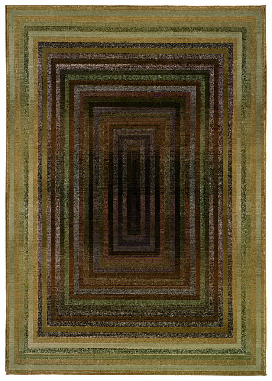 Oriental Weavers Sphinx Generations 281J2 Medium Green Rug