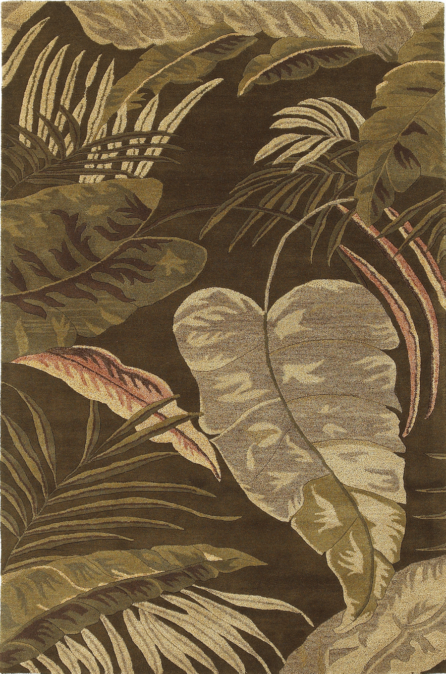 Havana 2615 Mocha Rainforest Rug by Kas