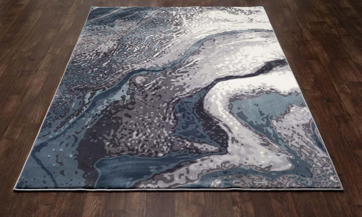 Platinium Geode Aqua Rug