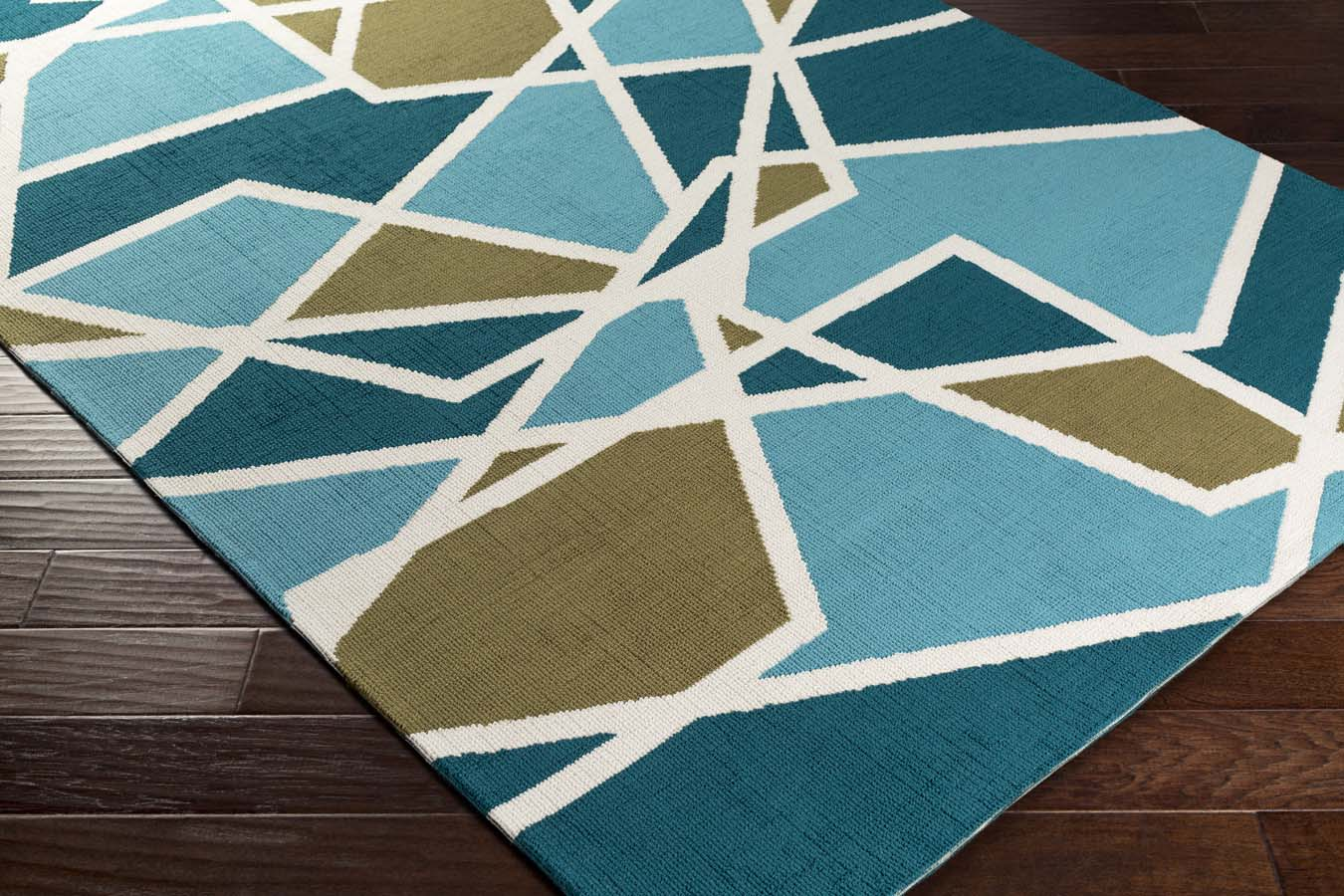 and teal joan corner holloway rug green olive aqua weavers artistic