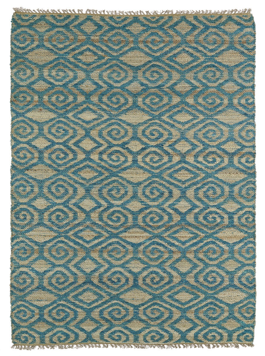 Kaleen Kenwood KEN02 91 Teal Area Rug