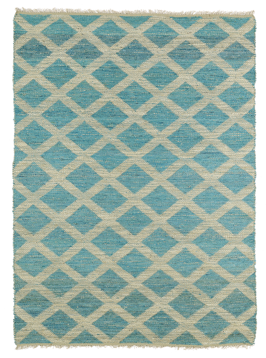 Kaleen Kenwood KEN05 91 Teal Area Rug