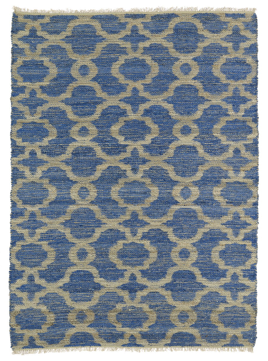 Kaleen Kenwood KEN07 17 Blue Area Rug