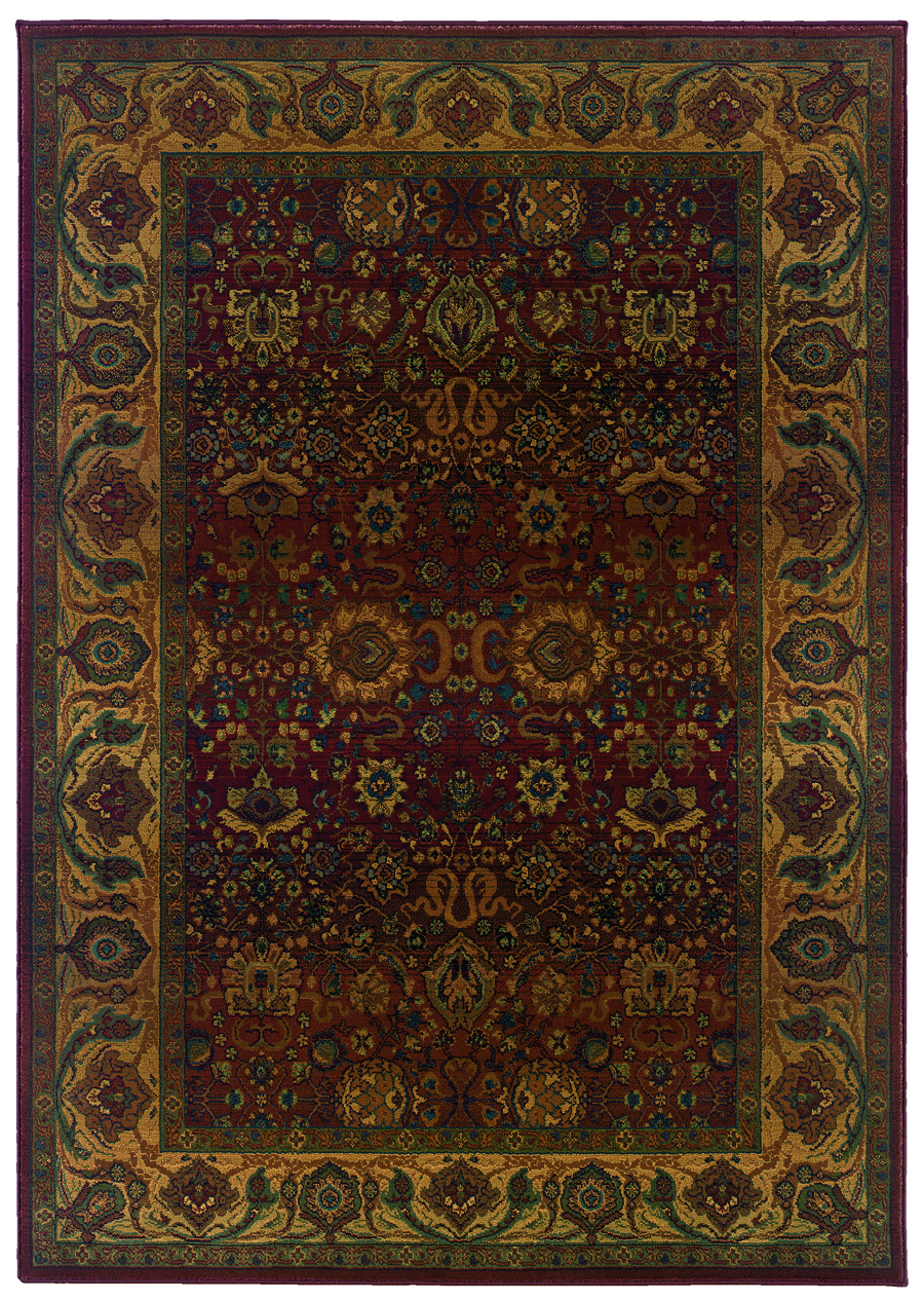 Oriental Weavers Sphinx Kharma 332C Red Rug