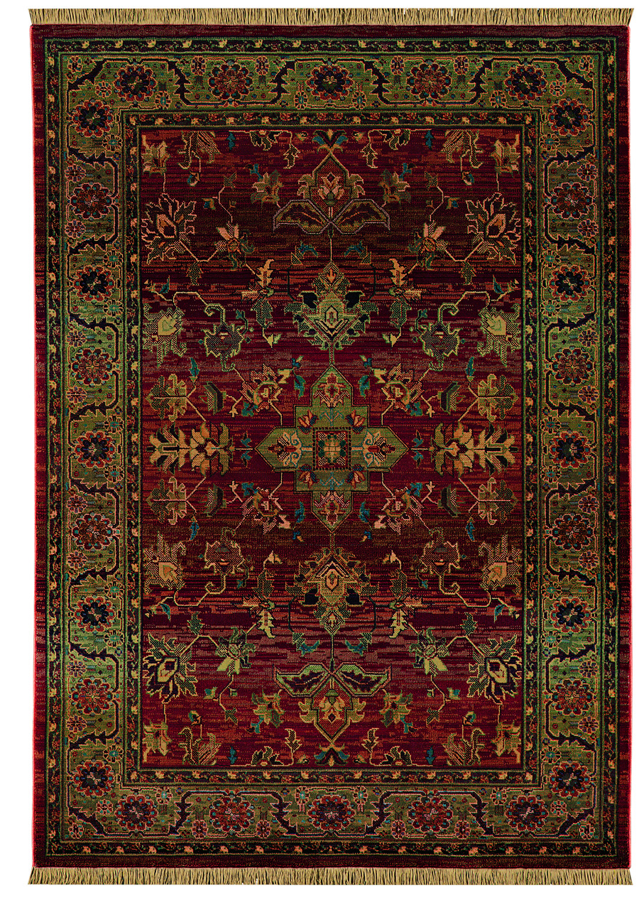Oriental Weavers Sphinx Kharma Enchantment 836C Medium Red Rug