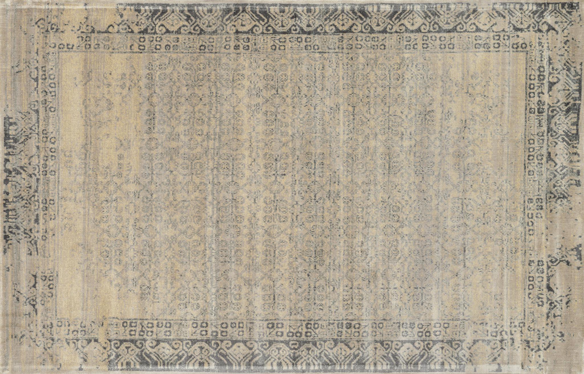 loloi nyla ny-18 ivory charcoal rug