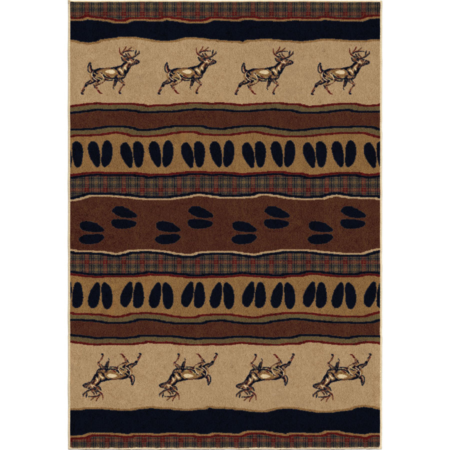 Orian Oxford 2615 Whitetail Parchment Area Rug