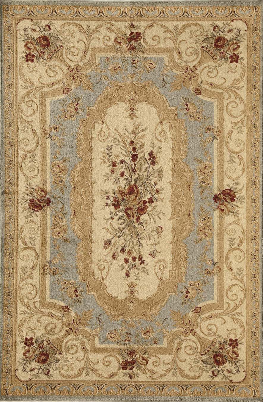 Rugs America Sorrento 2513-LBL Aubusson Light Blue Rug