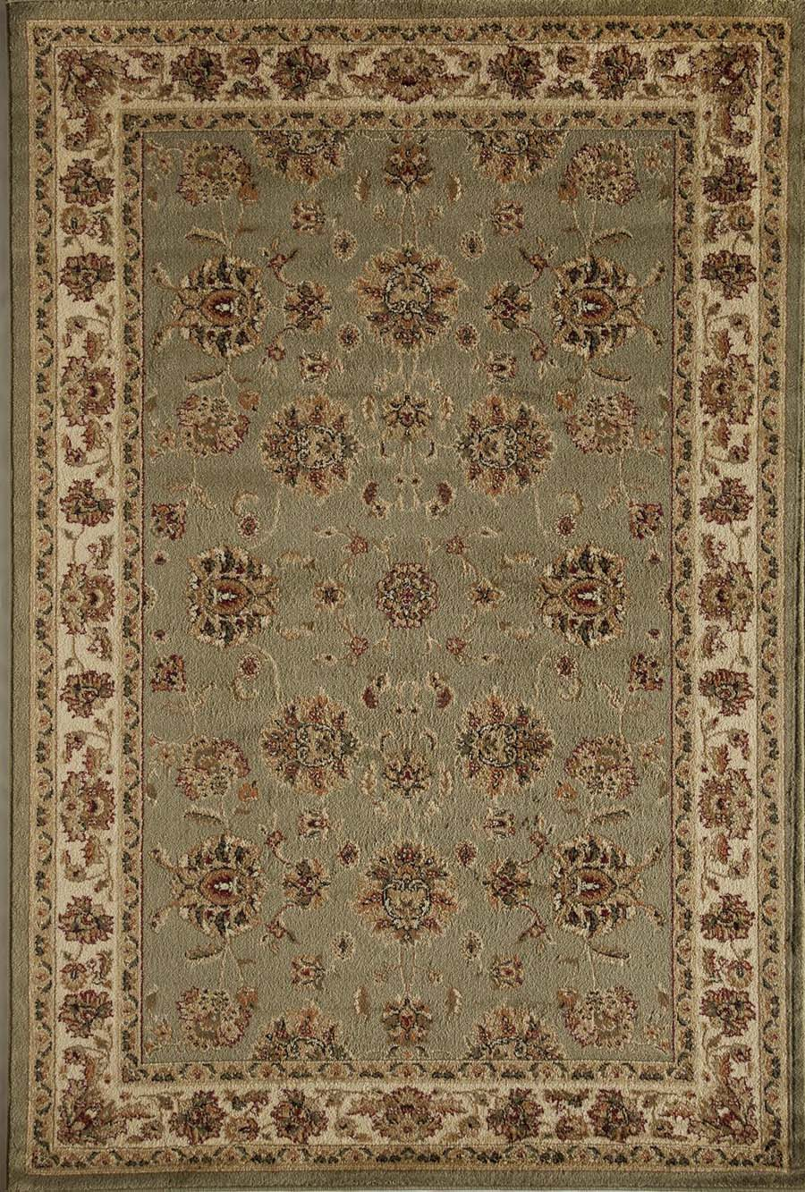 Rugs America Sorrento 5432-LGN Kashan Light Green Rug