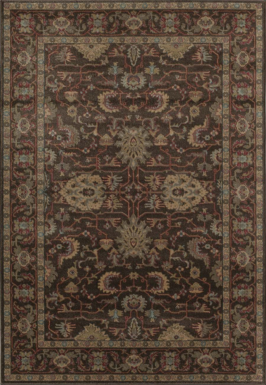 Rugs America Ziegler 8793A Brown Rug