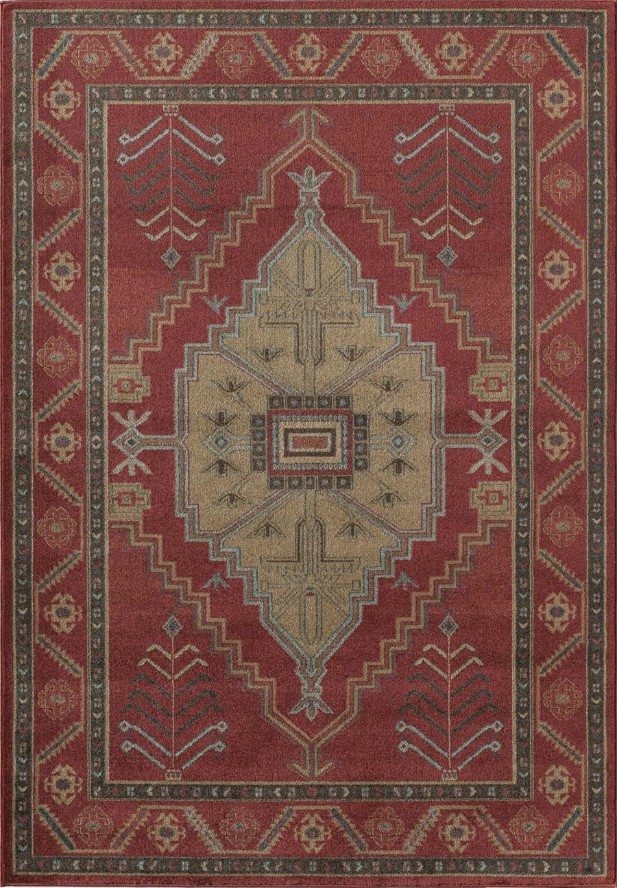 Rugs America Ziegler 8829A Red Rug