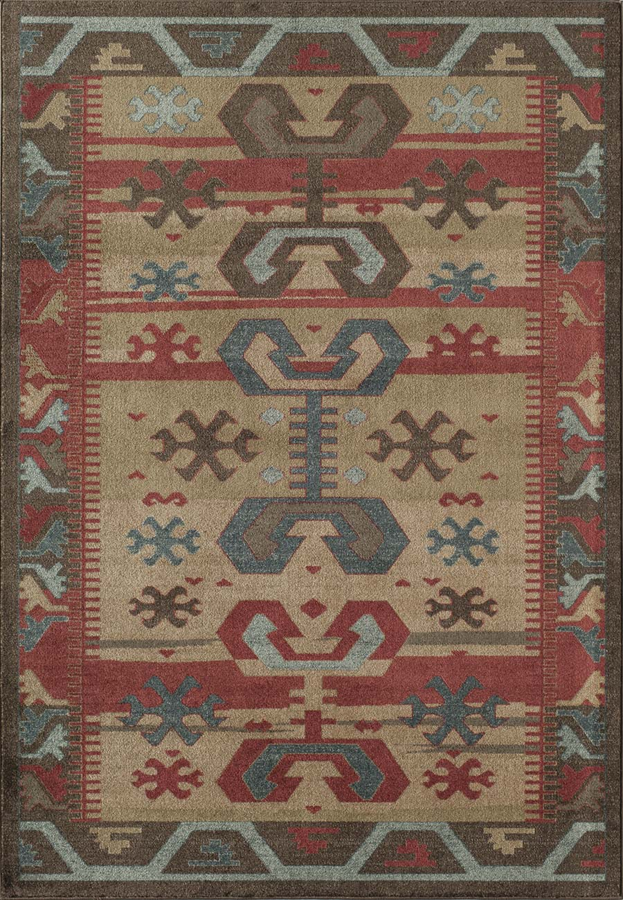 Rugs America Ziegler 9143A Brown Rug