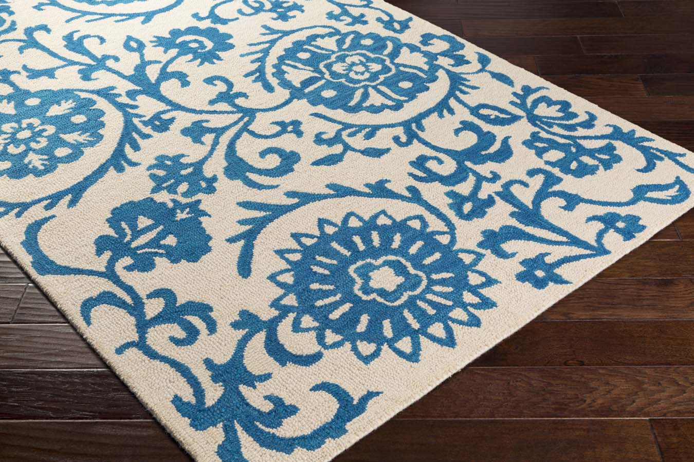 Artistic Weavers RHODES RDS-2314 Maggie Royal Blue/Off-White Rug