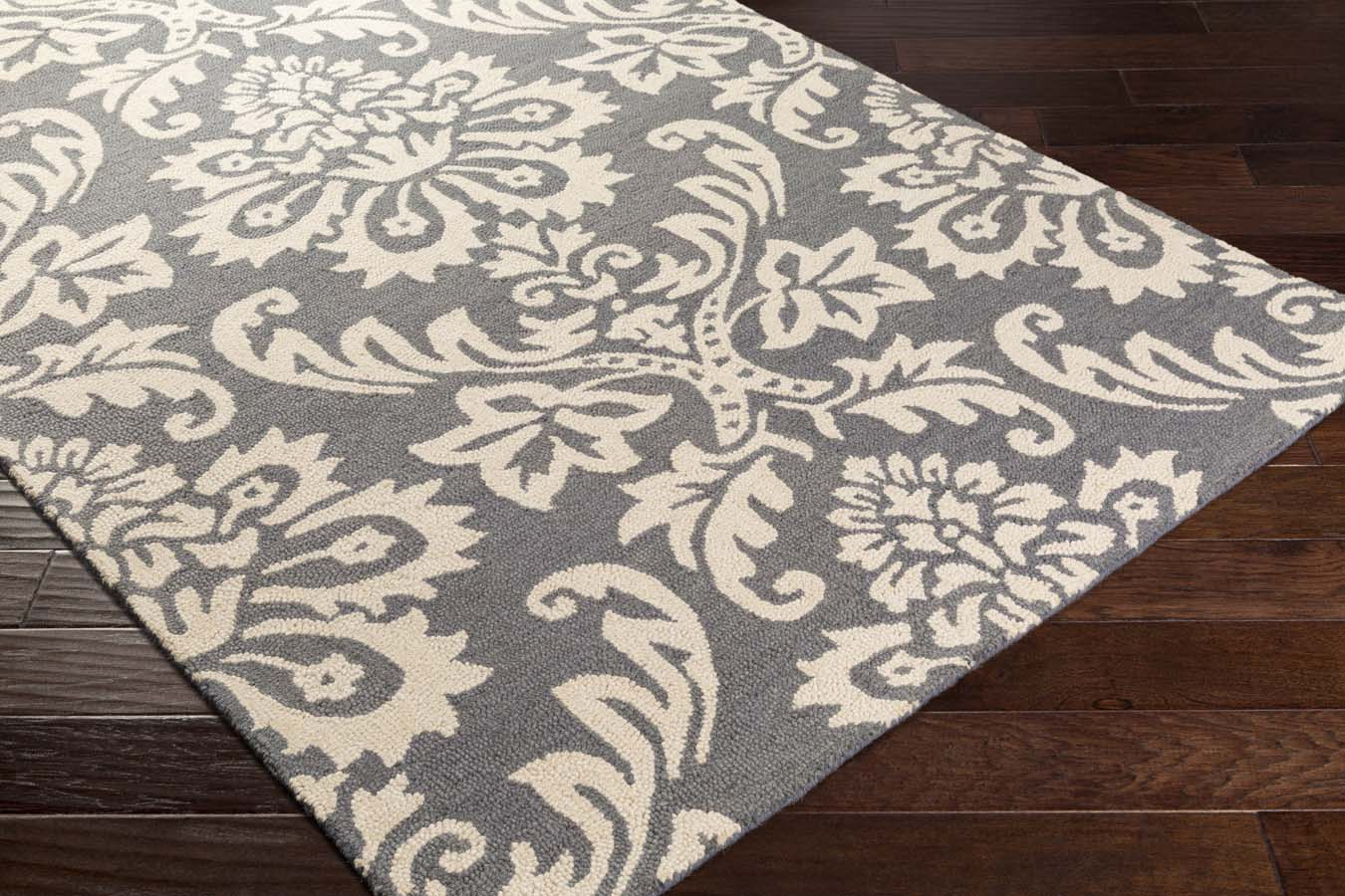 Artistic Weavers RHODES RDS-2322 Luna Dark Grey/Off-White Rug