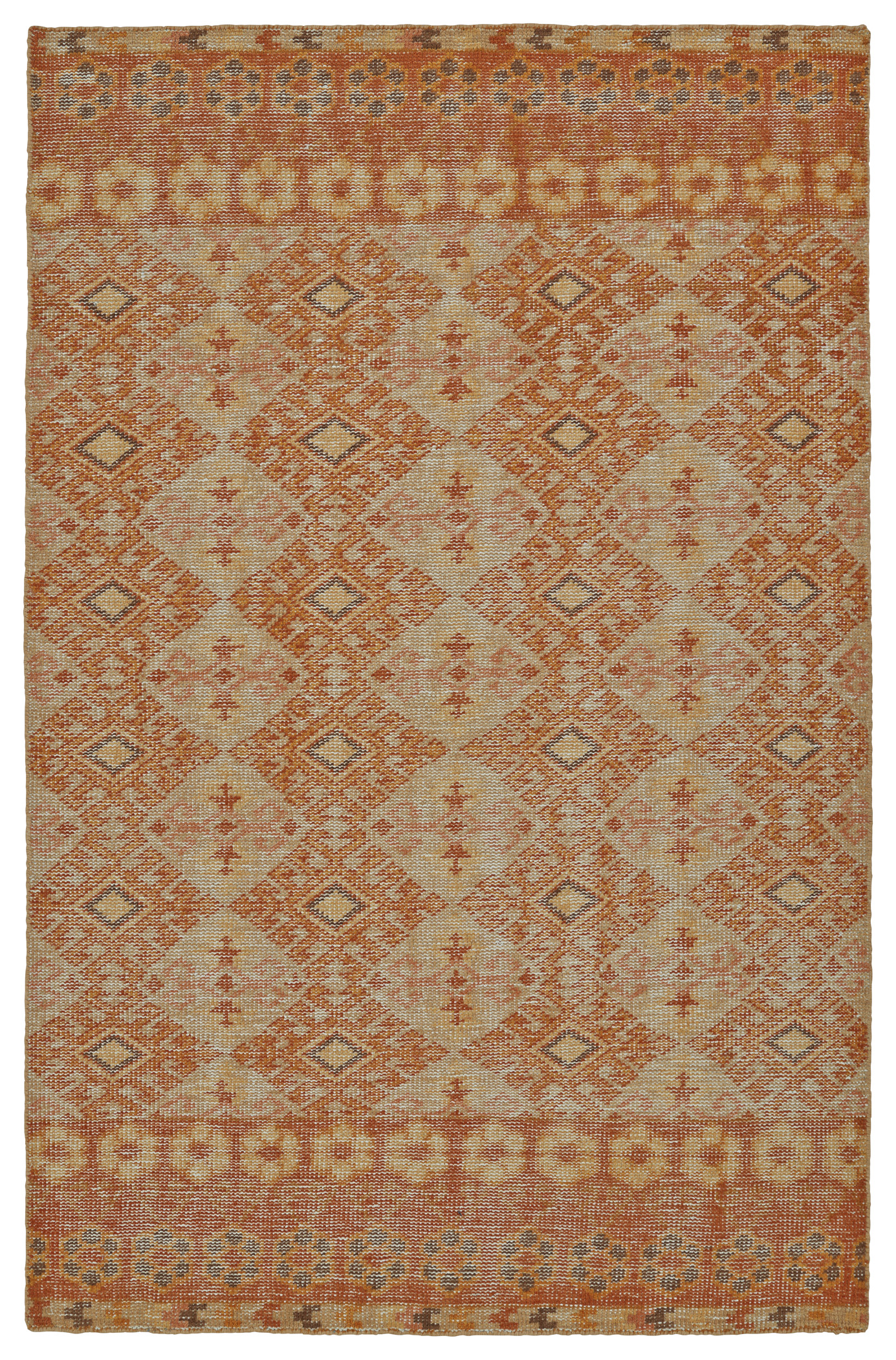 Kaleen Relic RLC04-89 Orange Rug