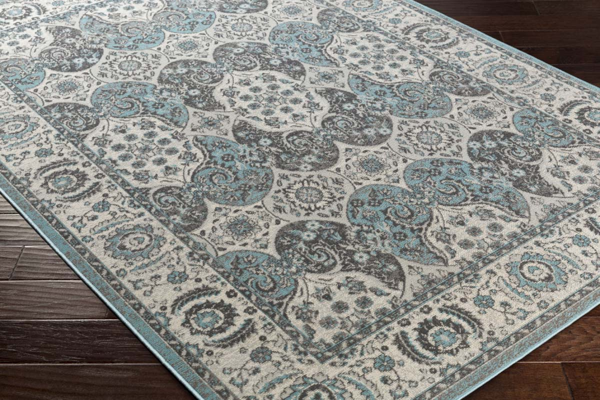 rug blue ice cosmopolitan by surya design collection products grey silvered gray in area turquoise and