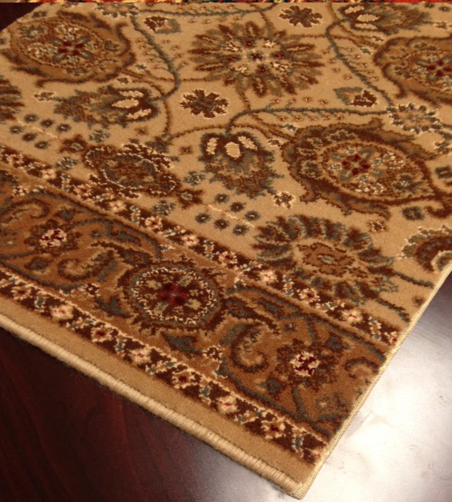 Royal Kashimar All Over Vase 8132/2607 Hazelnut Carpet Stair Runner