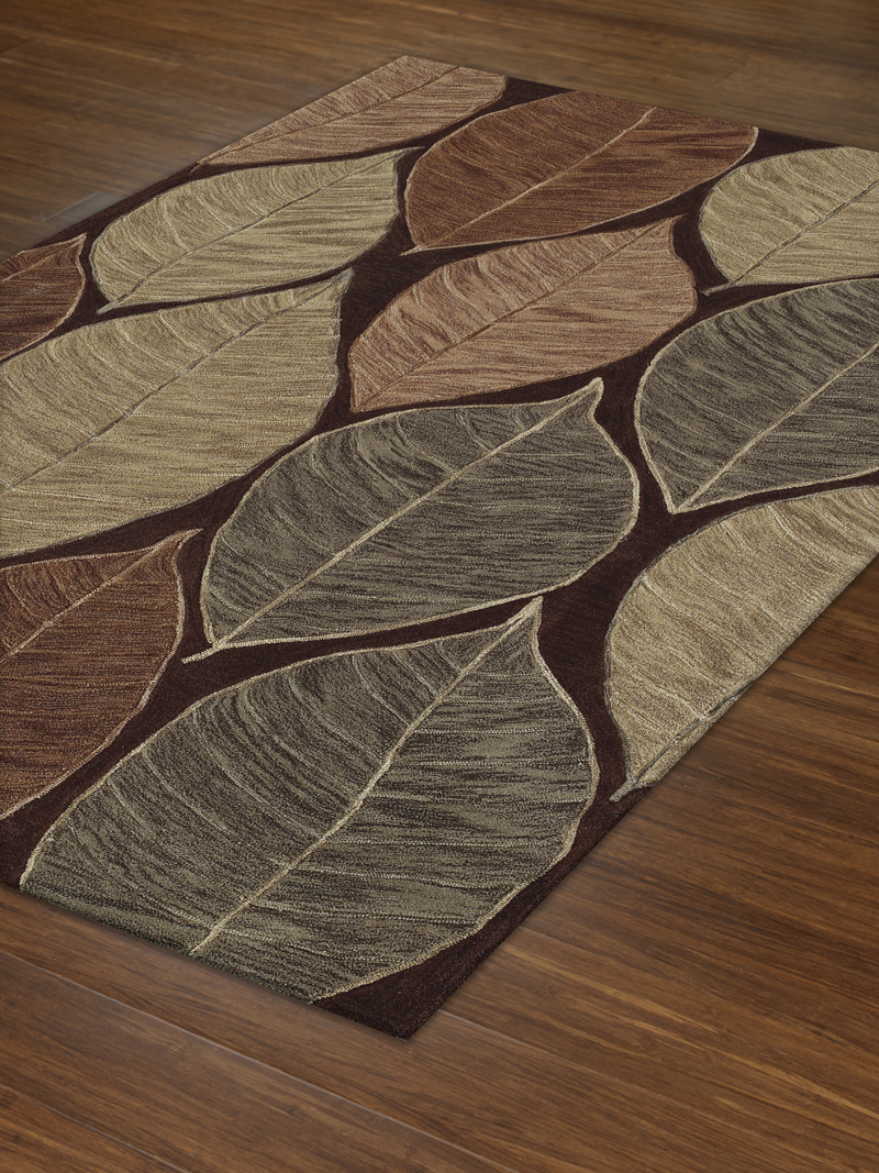 SD09 Chocolate Studio Rug by Dalyn