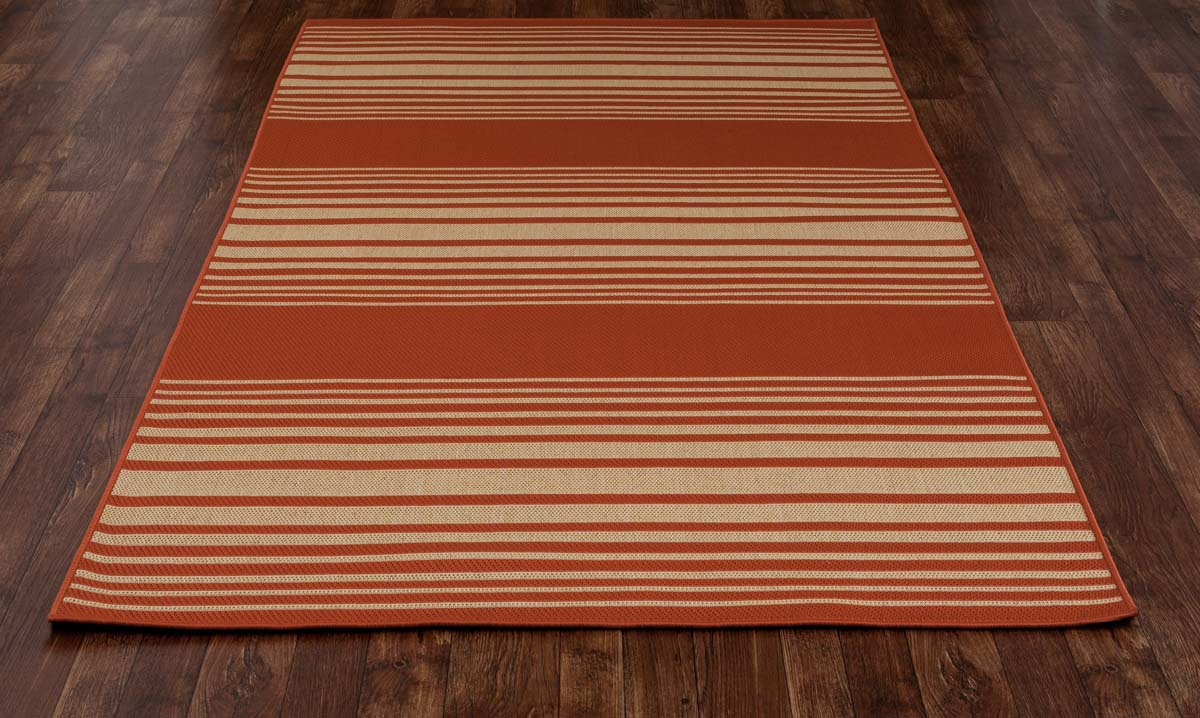 All Seasons Nautical Red Rug
