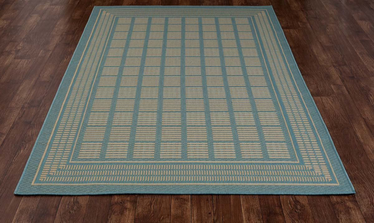 All Seasons Basket Blue Rug