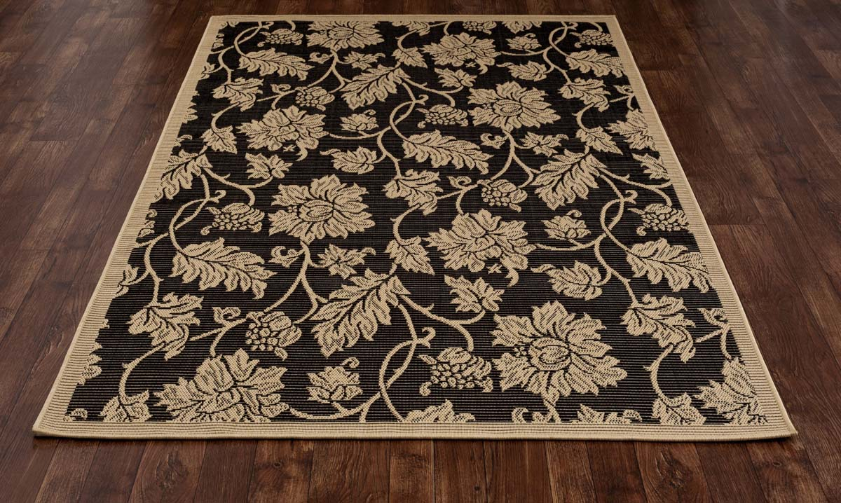 All Seasons Esplanade Black Rug