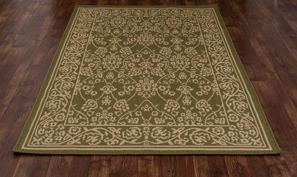 All Seasons Cosmic Green Rug