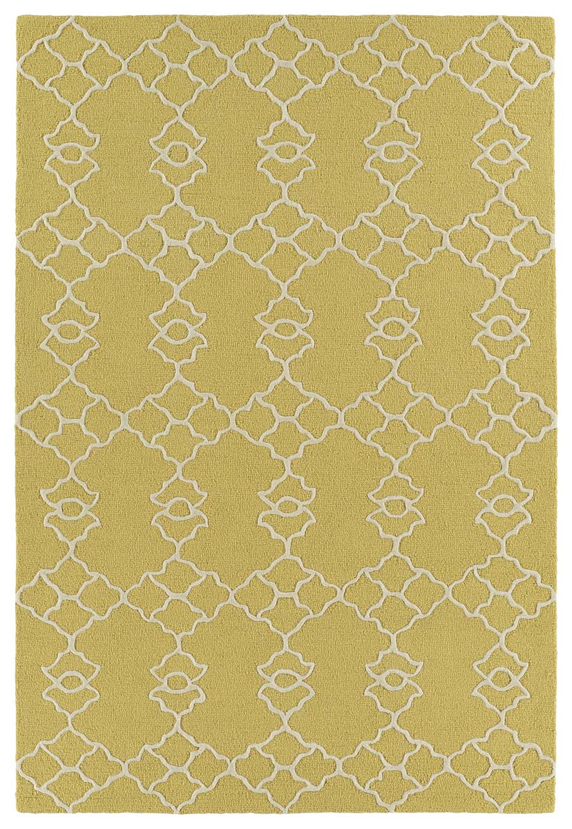 Kaleen Spaces SPA08-05 Gold Rug