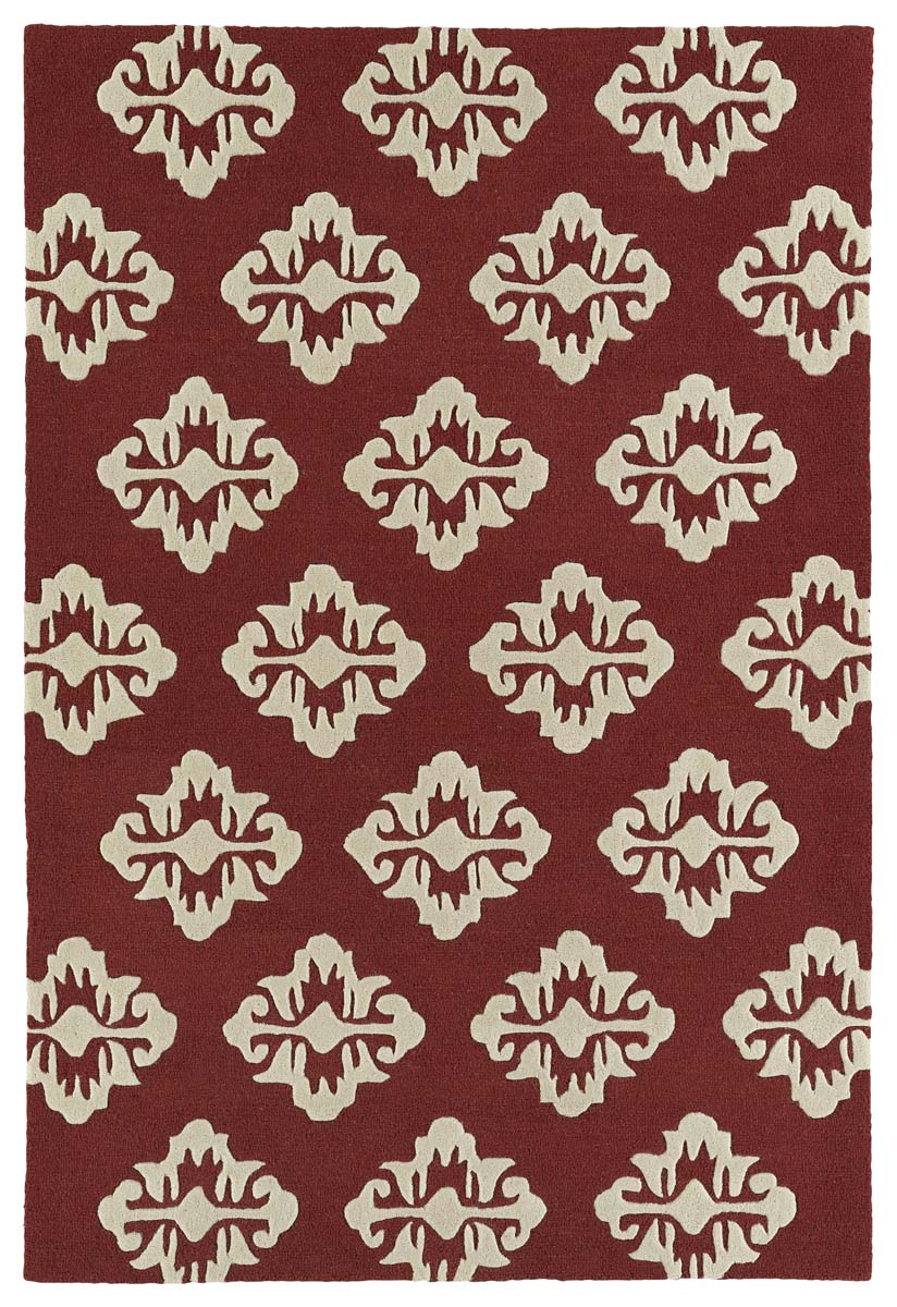 Kaleen Spaces SPA09-08 Cranberry Rug