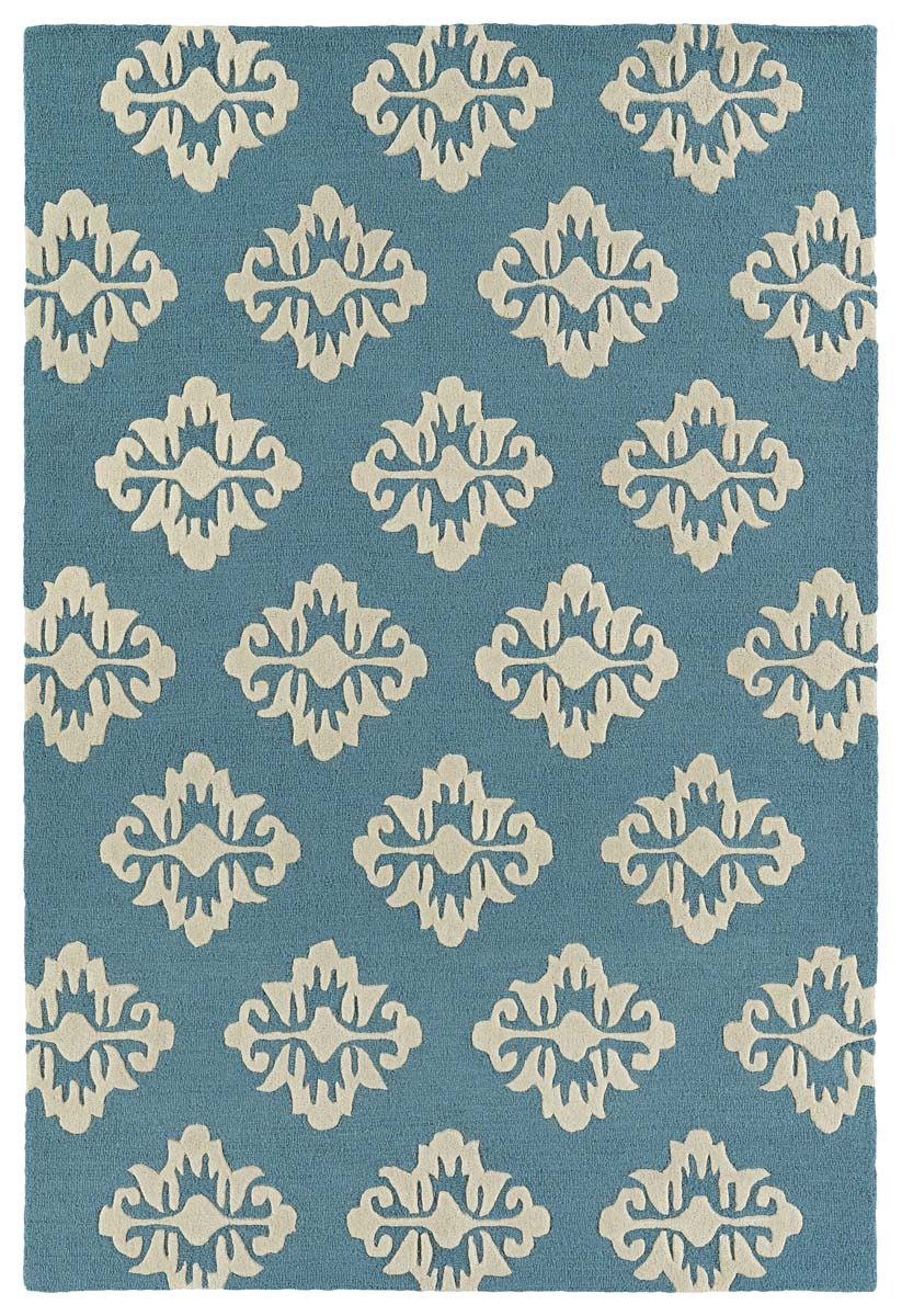 Kaleen Spaces SPA09-78 Turquoise Rug