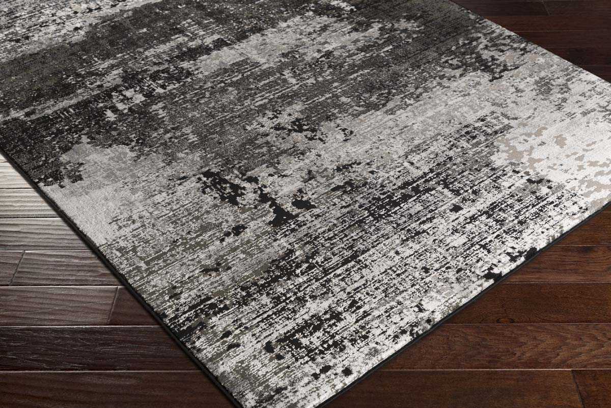 Artistic Weavers Savage SVG-8000 Jace Onyx Black Charcoal Rug