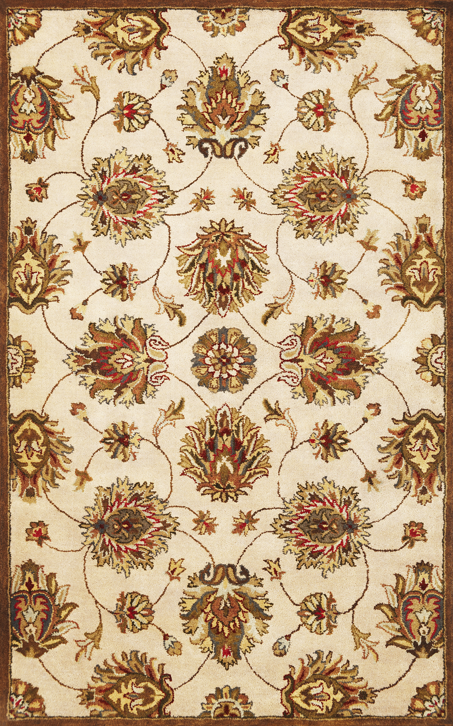 Syriana Allover Kashan 6005 Ivory Rug by Kas